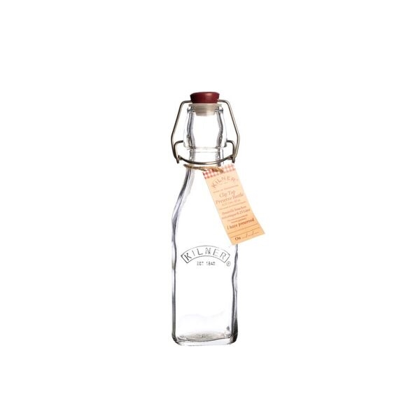 Flaska i glas med bygel 250 ml, Kilner