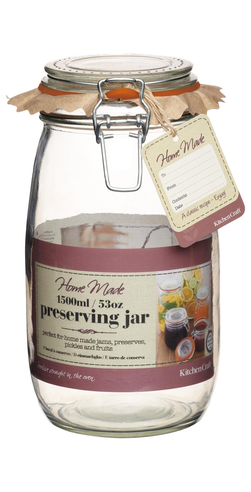 Köksredskap > Safta & sylta > Konserveringsburk i glas 1500 ml ...