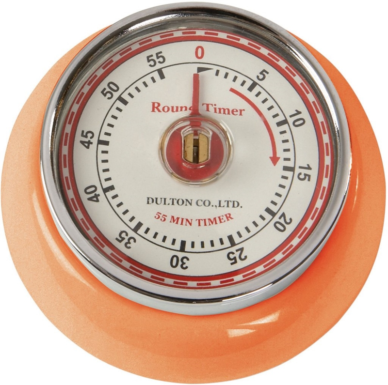 Timer orange 7,5 cm, Dulton